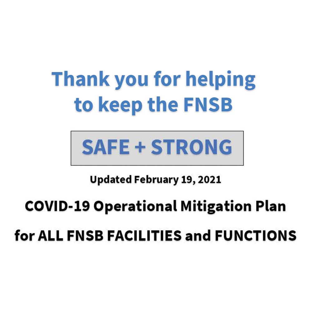 COVID Mitigation Plan Update Graphic
