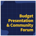 Budget Community Forum News Flash image